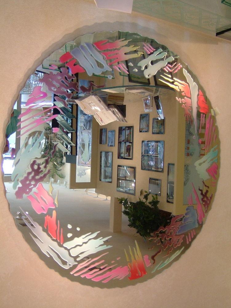 Custom Bathroom Mirrors Sans Soucie Art Glass