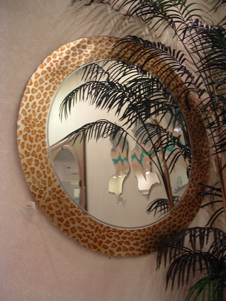 Decorative Mirror Leopard