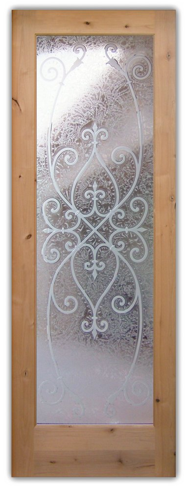 Interior Doors Frosted Glass frosted glass interior doors - sans soucie art glass