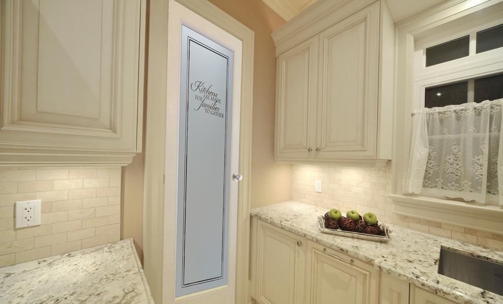 Pantry Doors Gl Sans Soucie Family Kitchen
