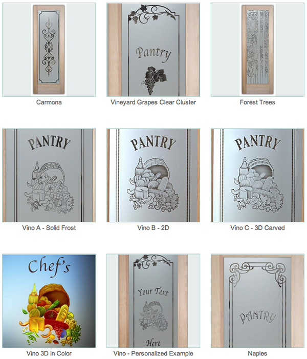 Pantry Doors With Glass Sans Soucie 05 Samples