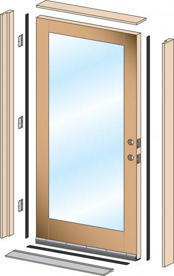 Ordinaire Exterior Prehung Door