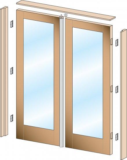 sans soucie interior prehung doors pair
