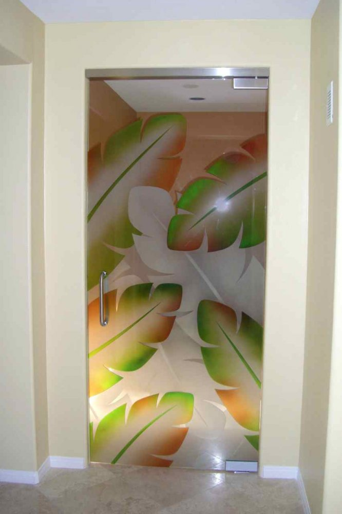 beautiful door glass painting designs design ideas