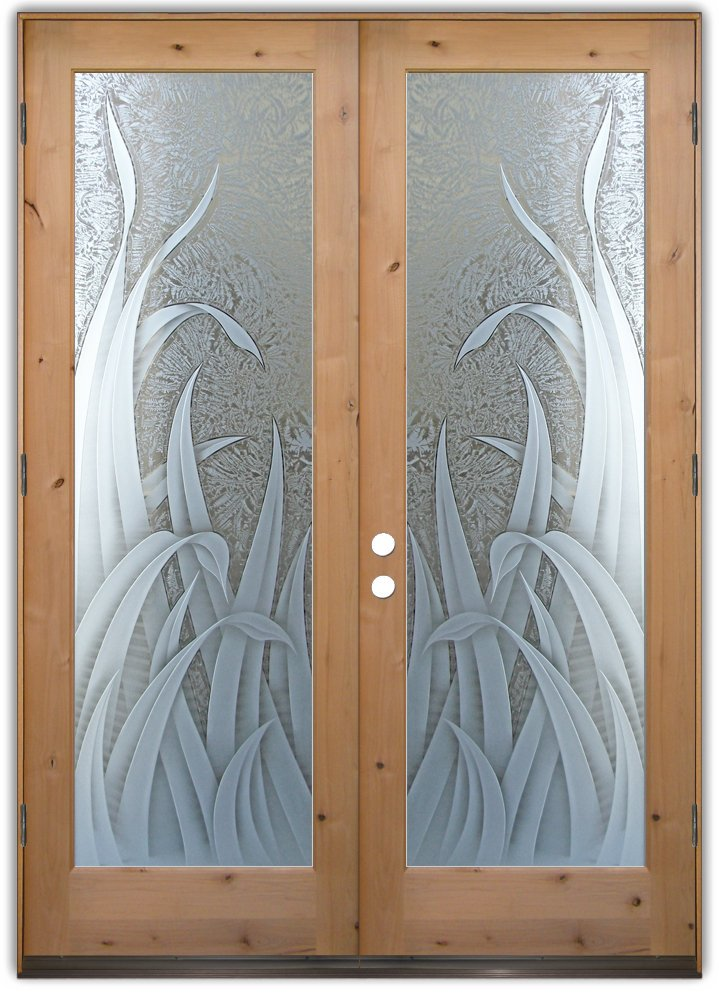 Beautiful Glass Front Doors With Reeds Sans Soucie Art Glass