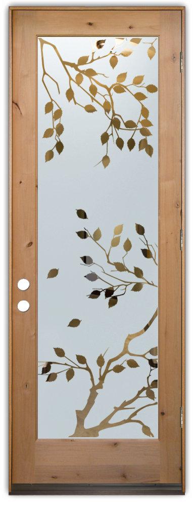 Glass doors interior glass doors frosted cherry tree for 12 pane exterior door
