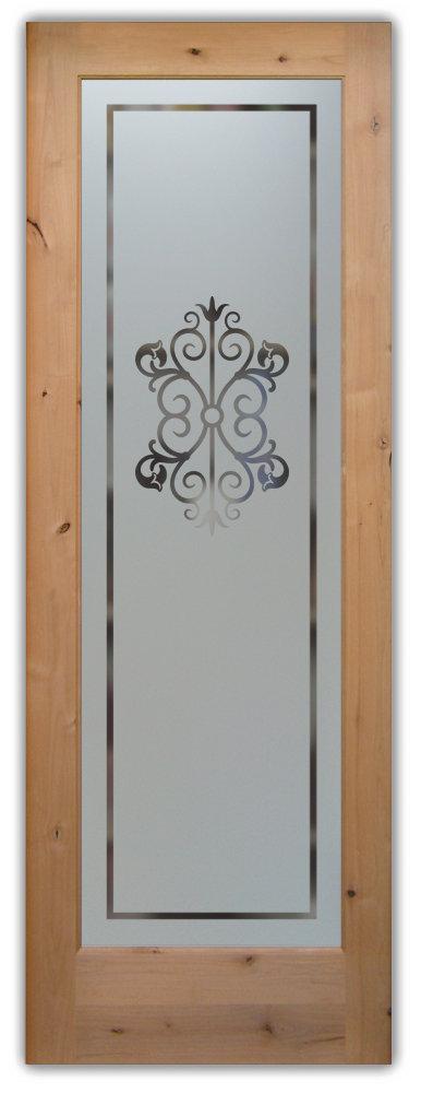 Decorative Glass Pantry Door Sans Soucie Art Glass