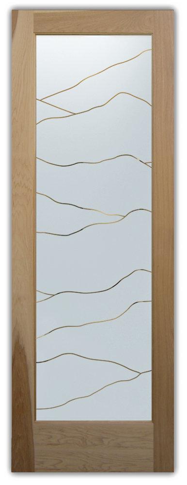 Interior Glass Doors With Decorative Etched Hills Sans Soucie Art Glass