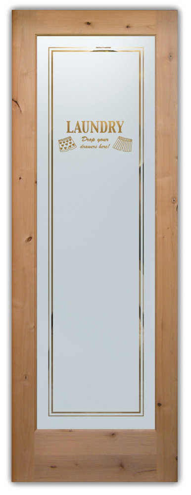Glass Laundry Room Doors Drop Your Drawers