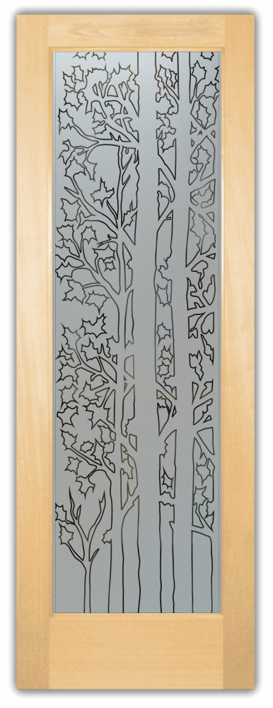 Etched glass pantry doors sans soucie art glass forest trees door pantry planetlyrics Choice Image