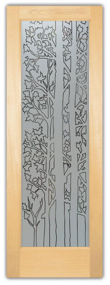 Forest Trees Door Pantry  sc 1 st  Sans Soucie Art Glass & etched glass pantry doors - Sans Soucie Art Glass pezcame.com