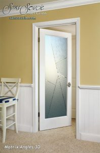interior glass doors etched glass frosted glass geometric pattern sans soucie