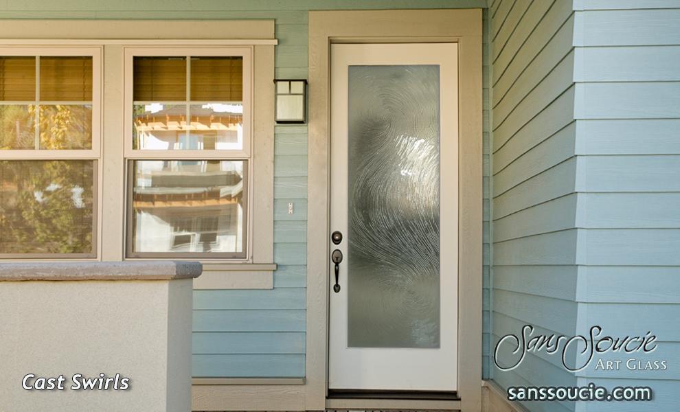 Cast swirls i glass doors modern decor style exterior glass door modern decor cast glass swirls pattern sans soucie planetlyrics Choice Image