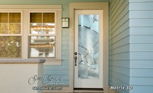 front doors with glass etched glass exterior door modern decor style