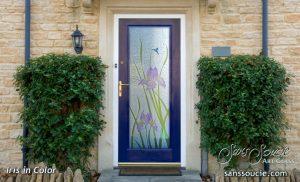 Glass Entry Doors Iris Gluechip Sans Soucie