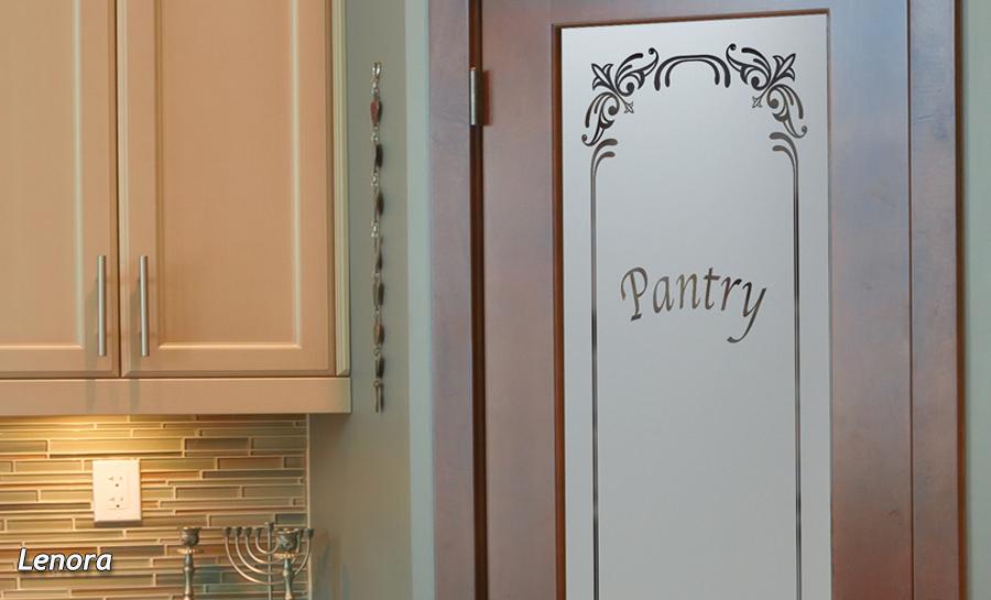 Lenora Pantry Door L Frosted Glass L Sans Soucie