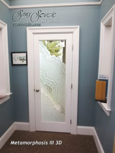 glass entry door eclectic style frosted glass pattern obscure