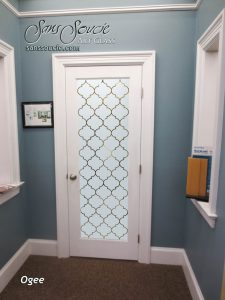 glass entry doors frosted glass pattern decorative frosted moroccan decor sans soucie ogee lg