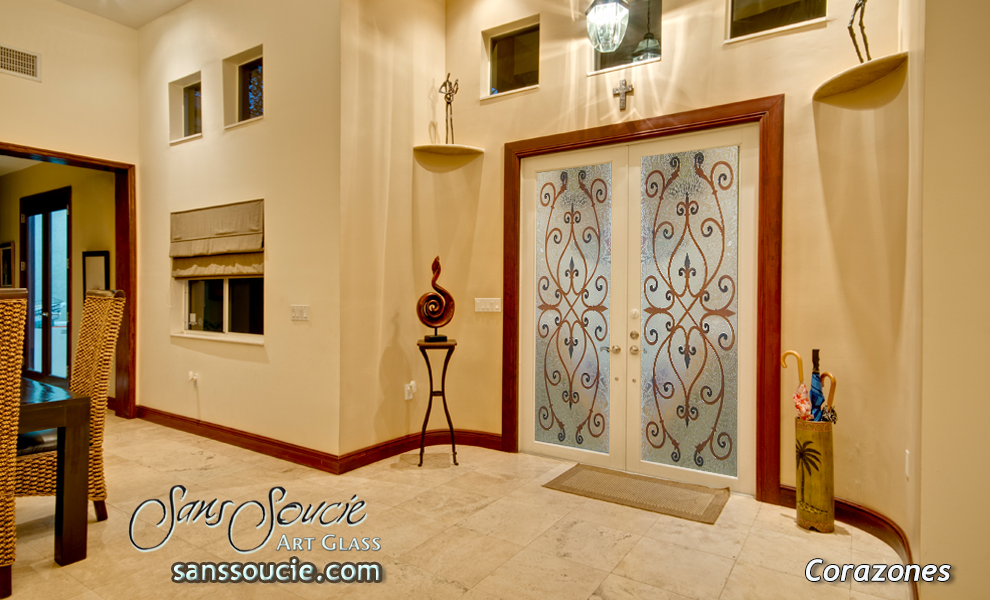 Corazones in color glass door inserts sans soucie glass door inserts corazones in color sans soucie planetlyrics Choice Image