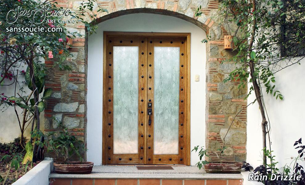 ... Glass Door Inserts Rain Drizzle 3D Sans Soucie