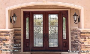 Glass Door Inserts Beautiful Bevels l Sans Soucie