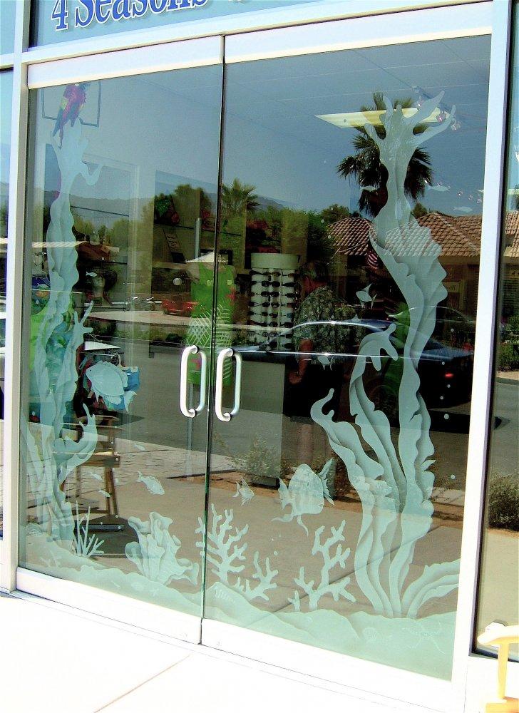 4 Seasons Swimwear Frameless Glass Doors Sans Soucie