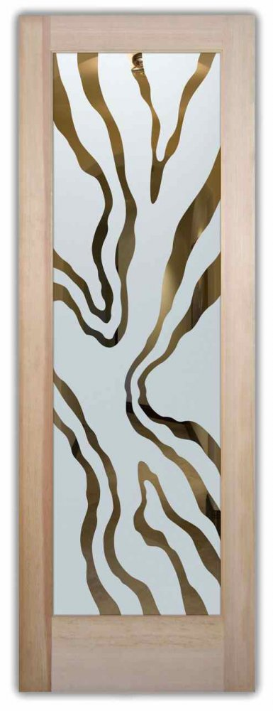 glass front doors etching glass african decor fluid water flowing abstract liquid lll sans soucie