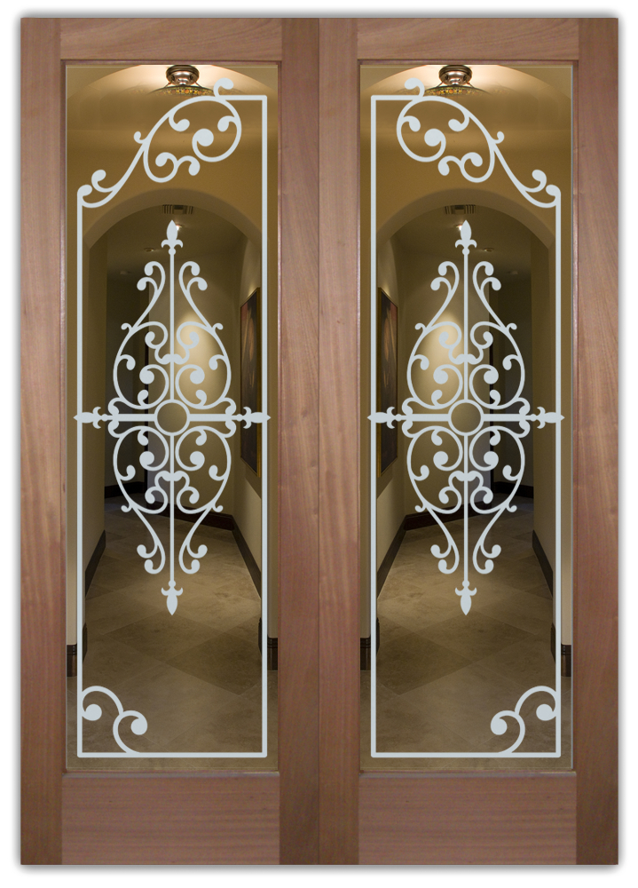 etched glass front doors tuscan