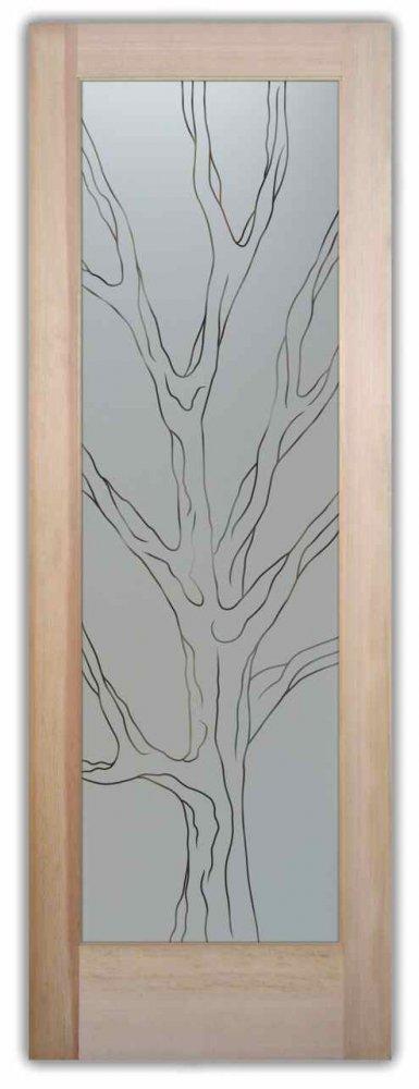 Barren Branches Pinst Pantry Door Sans Soucie