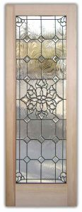 exterior glass doors beveled glass leaded Beautiful Bevels Stained Glass Doors by Sans Soucie