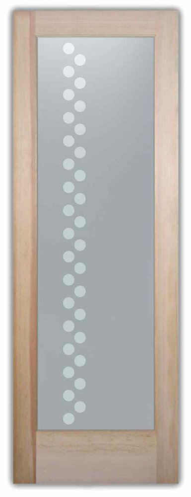 interior glass doors sandblasted glass contemporary style geometric patterns concentric sans soucie