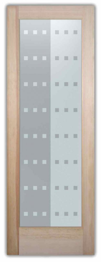 interior glass doors sandblasted glass modern design yin and yang geometric patterns contrary sans soucie