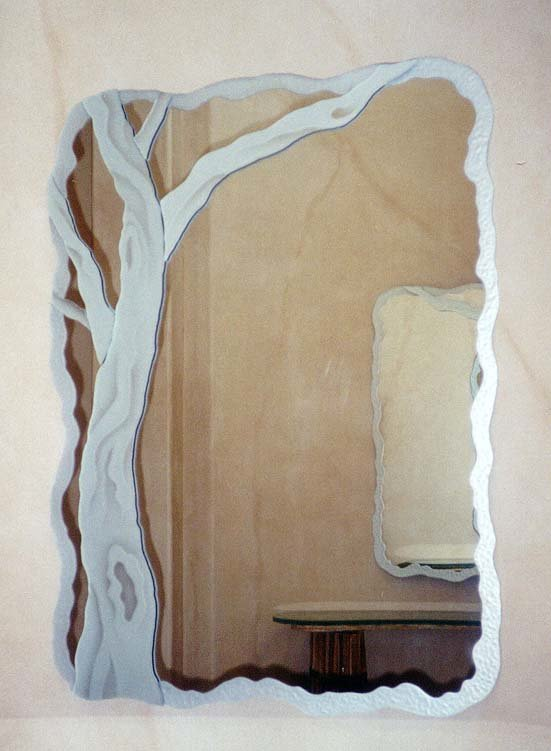 Barren Branches Custom Mirrors Sans Soucie
