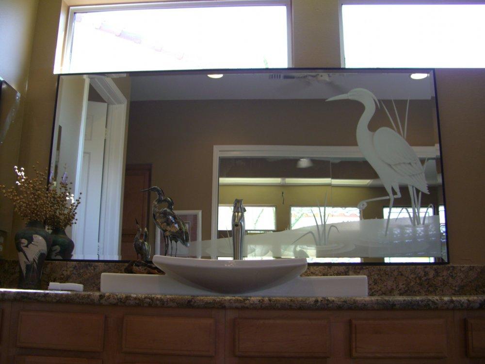 Egret custom mirrors sans soucie for Custom mirror glass