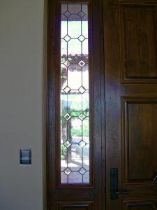 Window Leaded Glass Tuscan diamond Sans Soucie