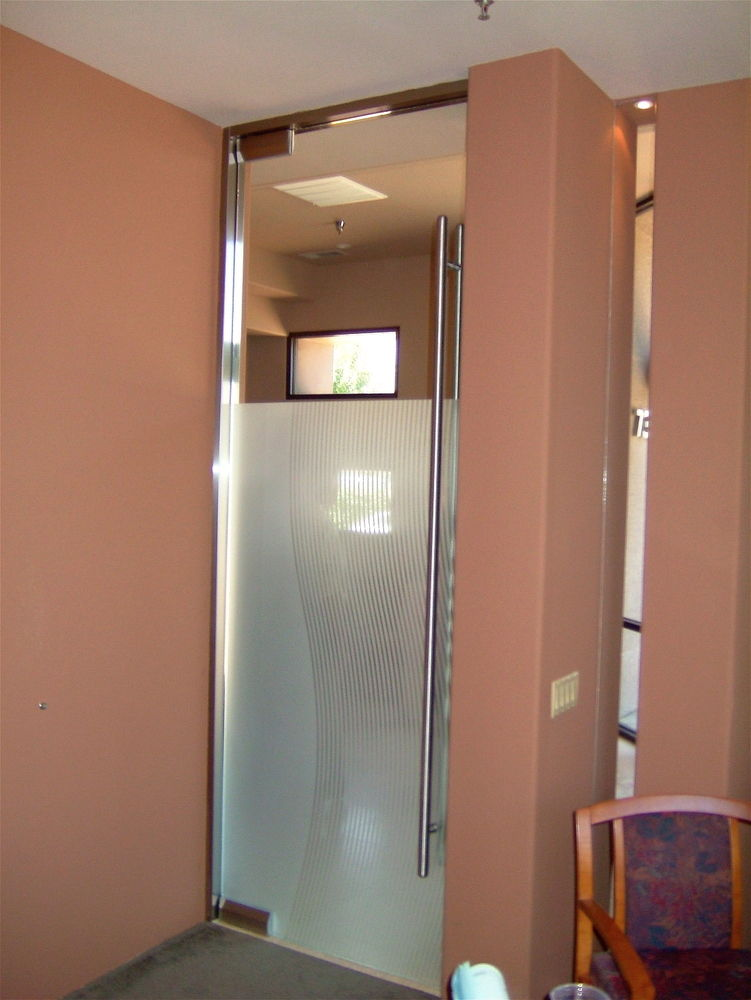 Divise Stripes Frameless Glass Doors Sans Soucie