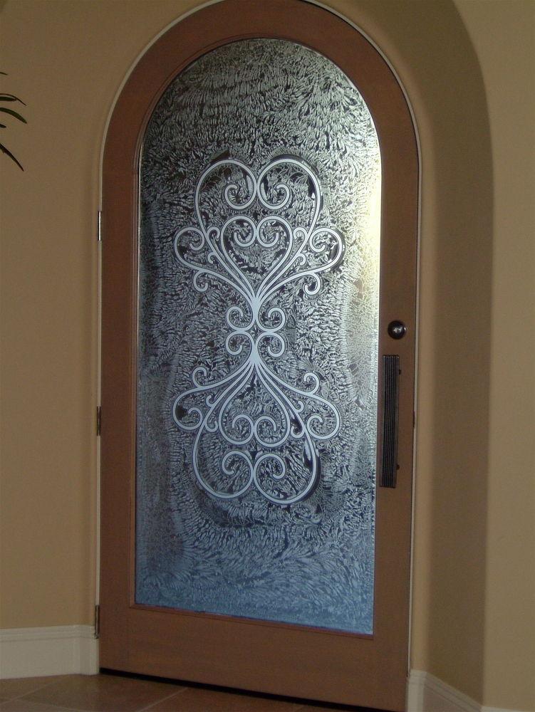 Door Glass Inserts Amelia Sans Soucie