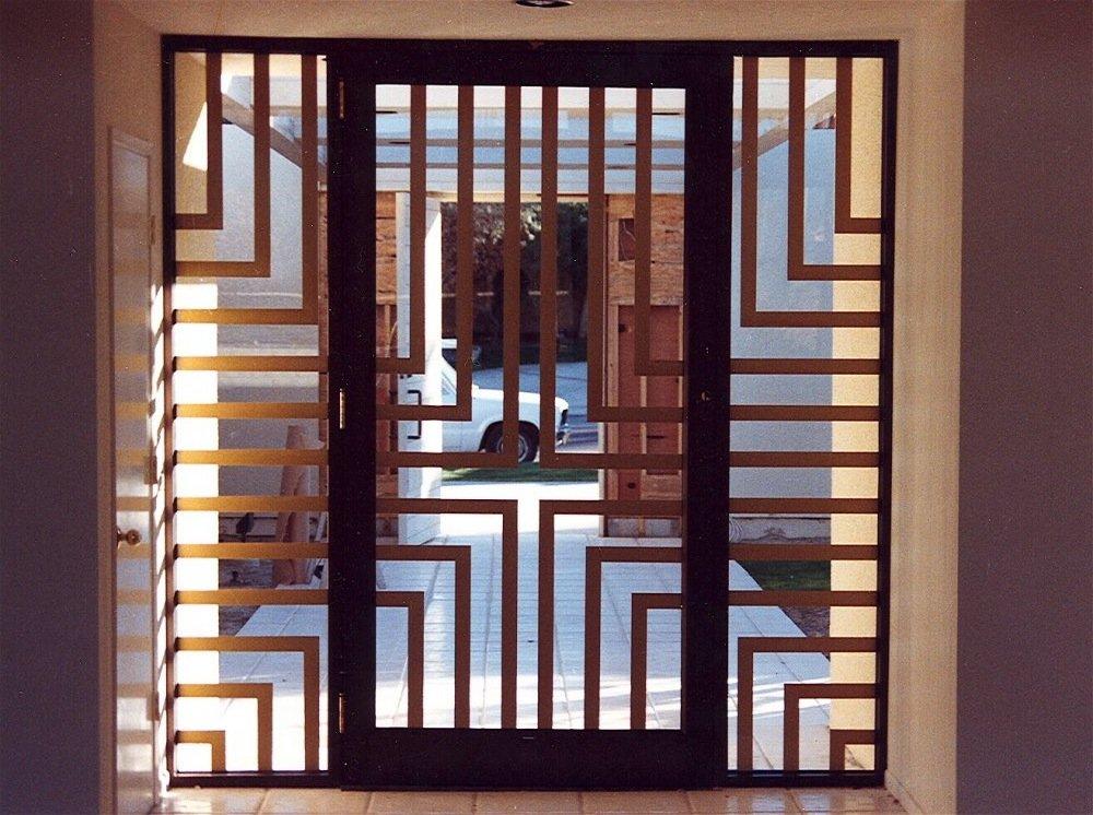 Door Glass Inserts Defined Lines Sans Soucie