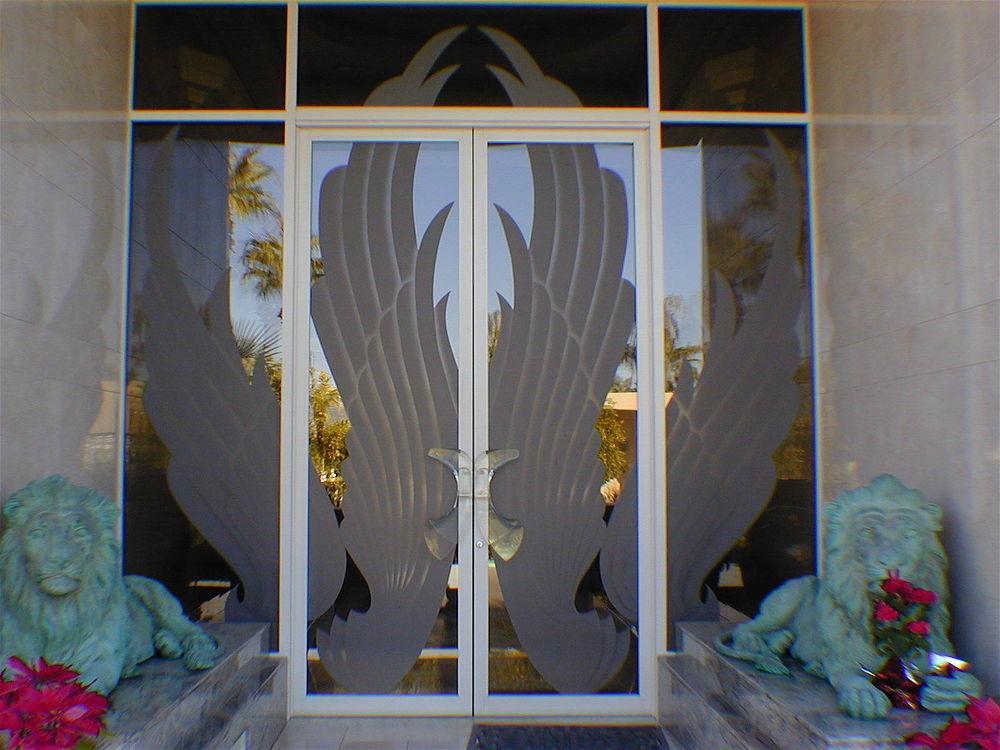 Door Glass Inserts Gabriel's Wings Sans Soucie