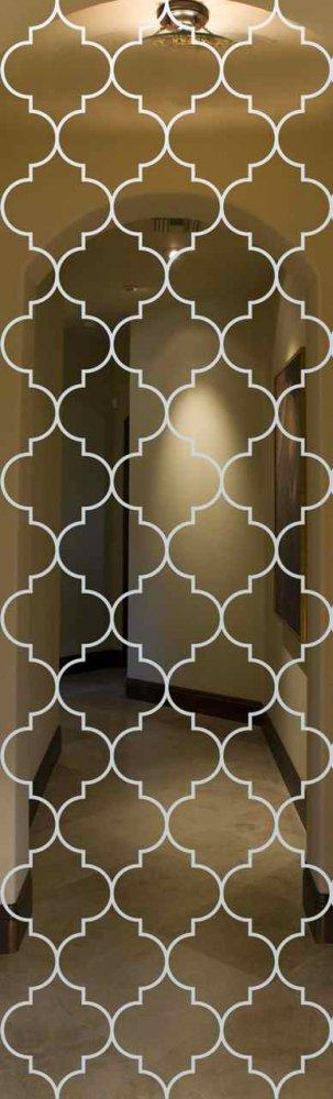 Door Glass Inserts Ogee LG Sans Soucie
