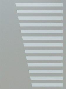 custom glass modern decor linear patterns sleek bands sans soucie