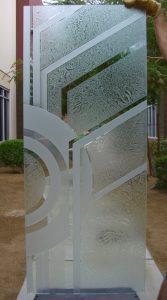 Glass Front Doors Etched Glass Art Deco Sans Soucie