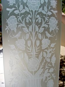 Glass Door Inserts Etched Glass Wildlife hummingbird Sans Soucie