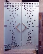 Modern Decor Style Etched Glass Frosted Glass Designs