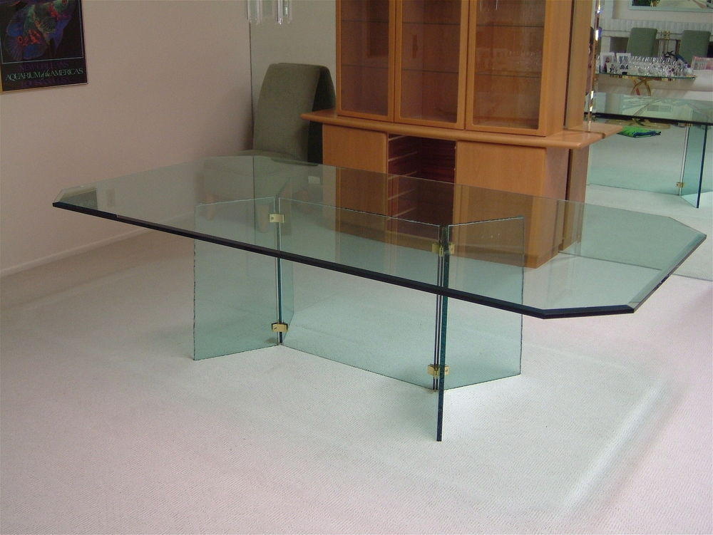 Glass Dining Tables Plain Sans Soucie