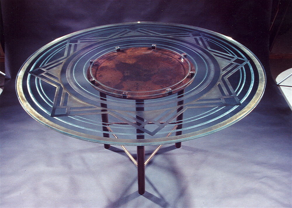 Glass Dining Tables Stargazer Sans Soucie