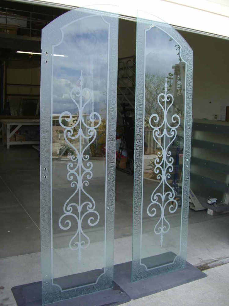 Glass Door Inserts Carmona Arched Tops Sans soucie