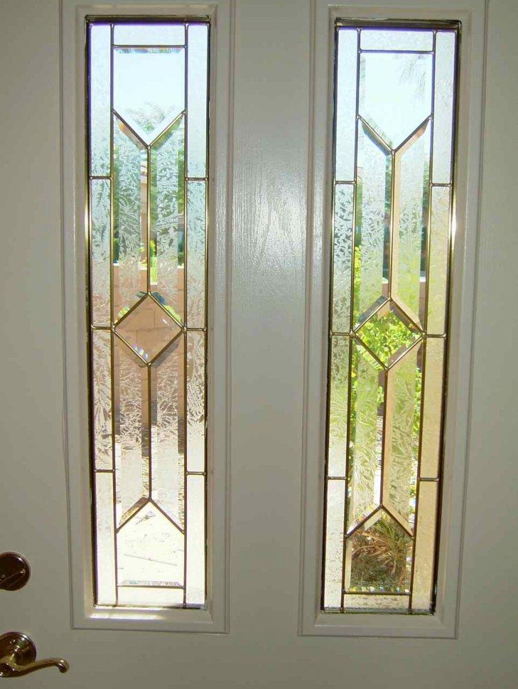 Glass Door Inserts Corinthian Sans Soucie