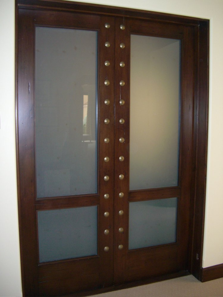 Glass Door Inserts White Laminated Sans Soucie