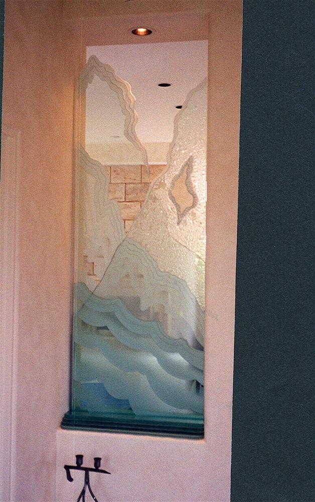Glass Partitions Enclosed Rugged Retreat Sans Soucie